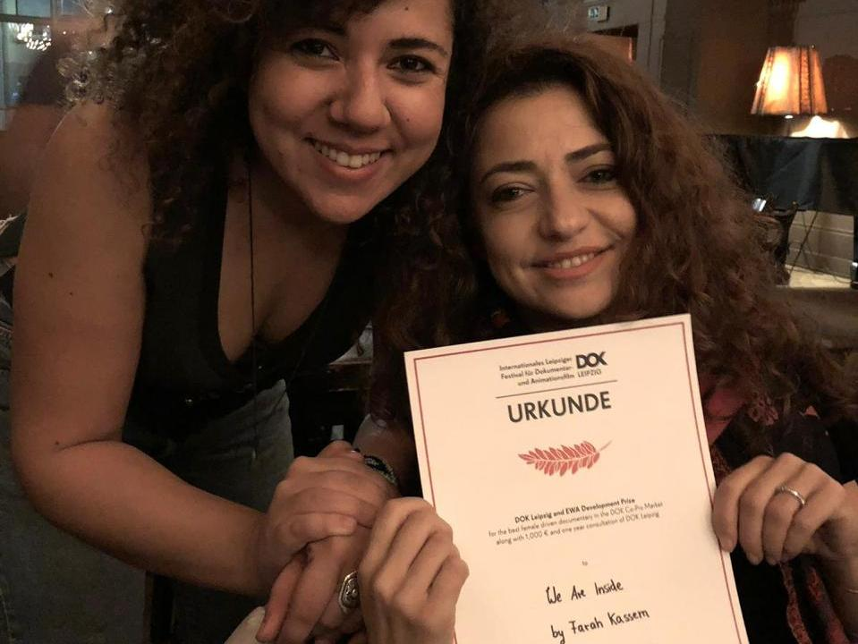 Farah Kassem wins the best female directed project at Dok Leipzig
